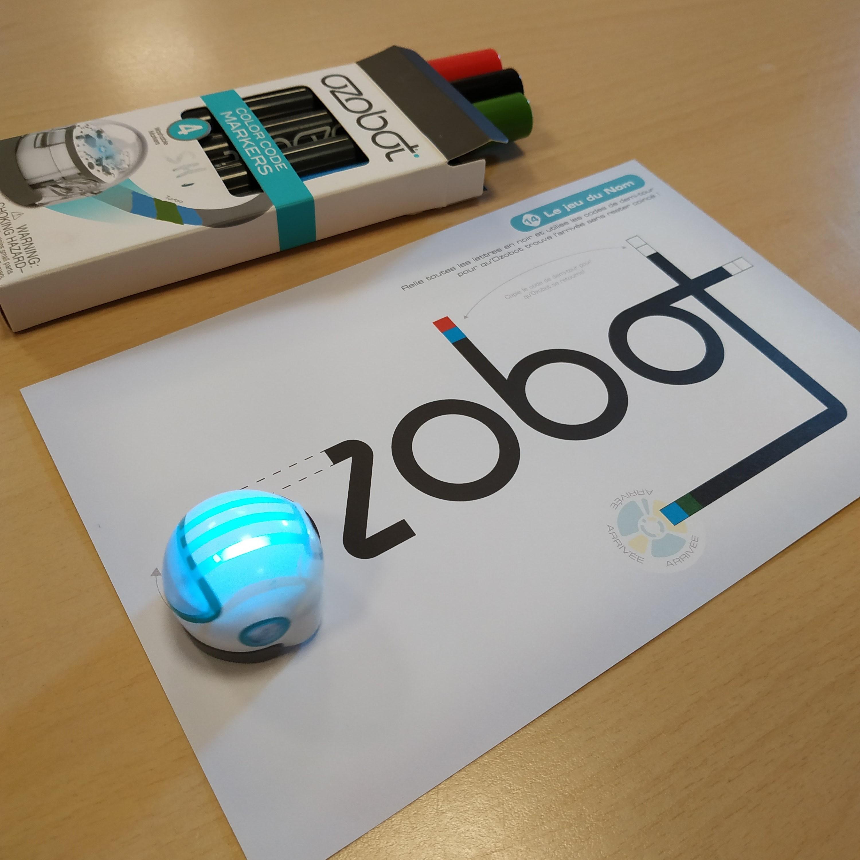 Atelier découverte Ozobot |