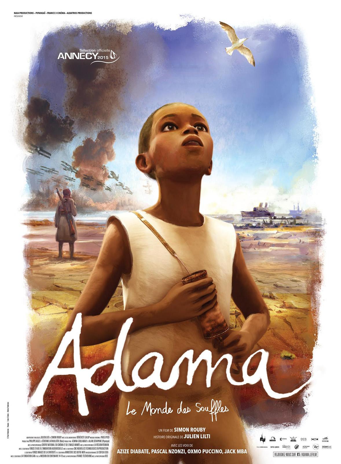 """""""Adama"""" de Simon Rouby, France, 2015, 1h22 (à partir de 10 ans)  """