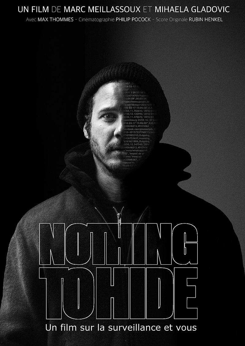 """Nothing to Hide"" de Marc Meillassoux, 2017, 86 mn 