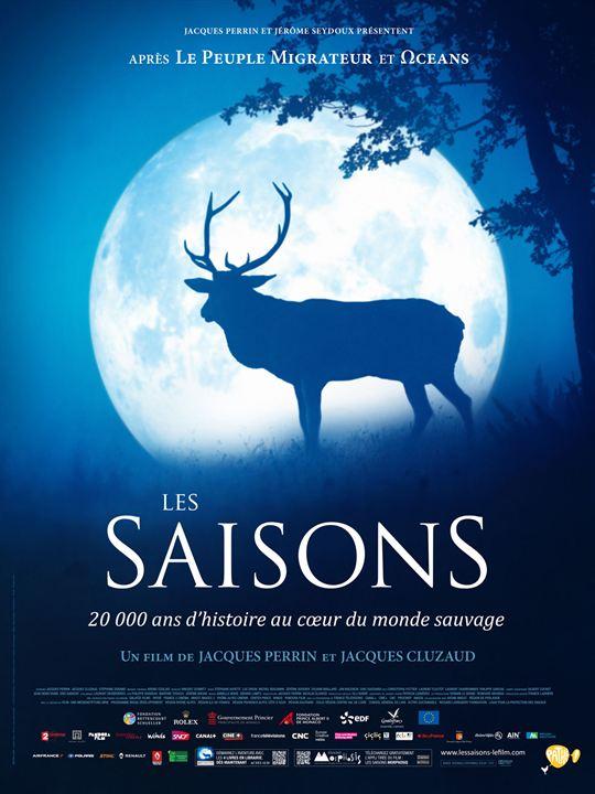 ''Les Saisons'' de Jacques Cluzaud, Jacques Perrin, France, 2015, 1h37 |