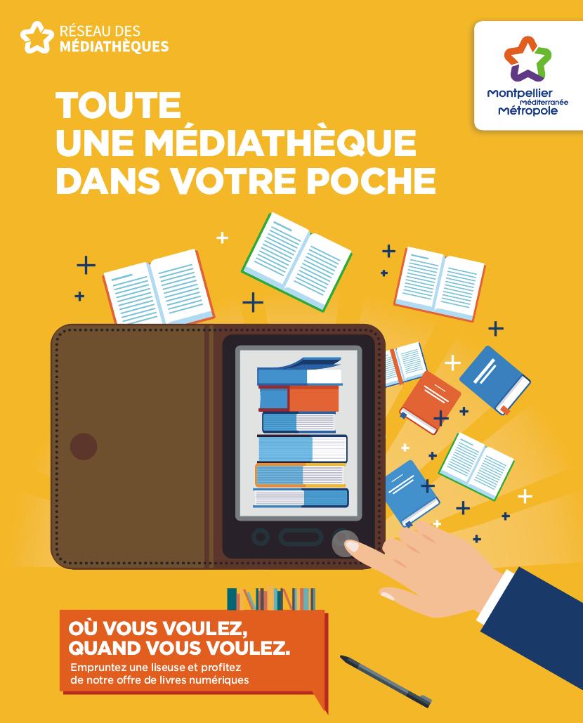 Mediatheques Montpellier Mediterranee Metropole Livres Numeriques